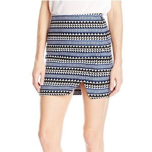 ➳ NWT BCBGeneration Front Slit Mini Skirt
